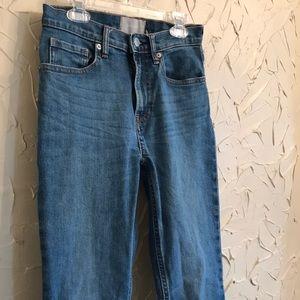 Everlane High Rise Skinny Jeans Regular 26